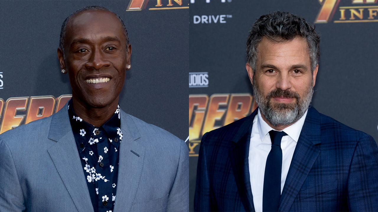 Don Cheadle won't do press with 'Avengers' co-star Mark Ruffalo: 'He runs his mouth a lot'