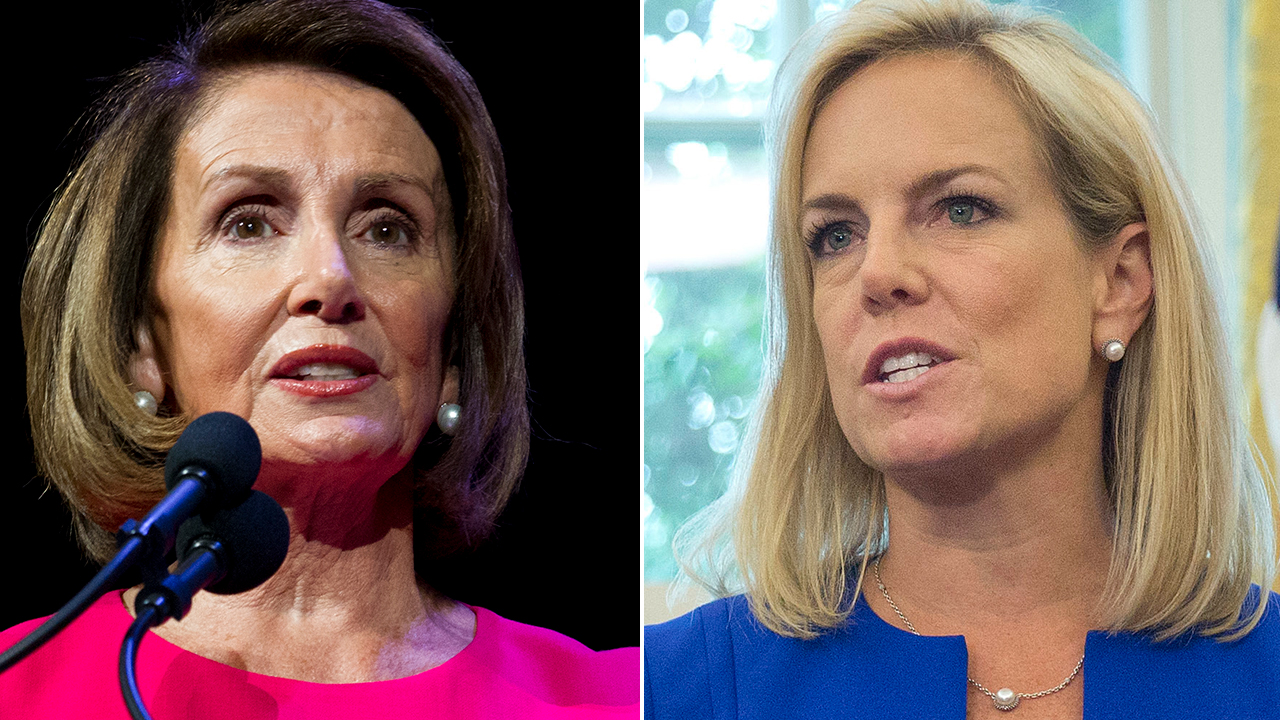 Pelosi, Nielsen clashed during border-security meeting: 'I reject your facts,' House speaker said, accordin...