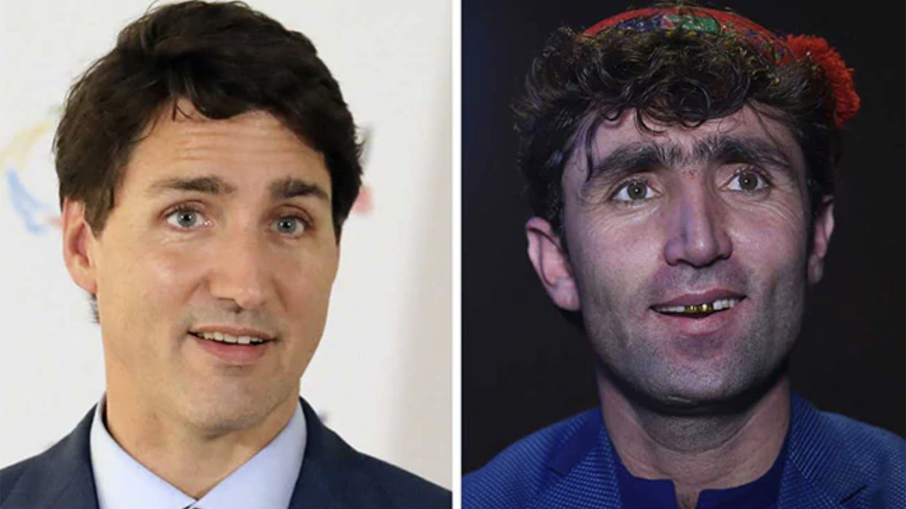 Justin Trudeau's Afghan lookalike goes viral after TV performance