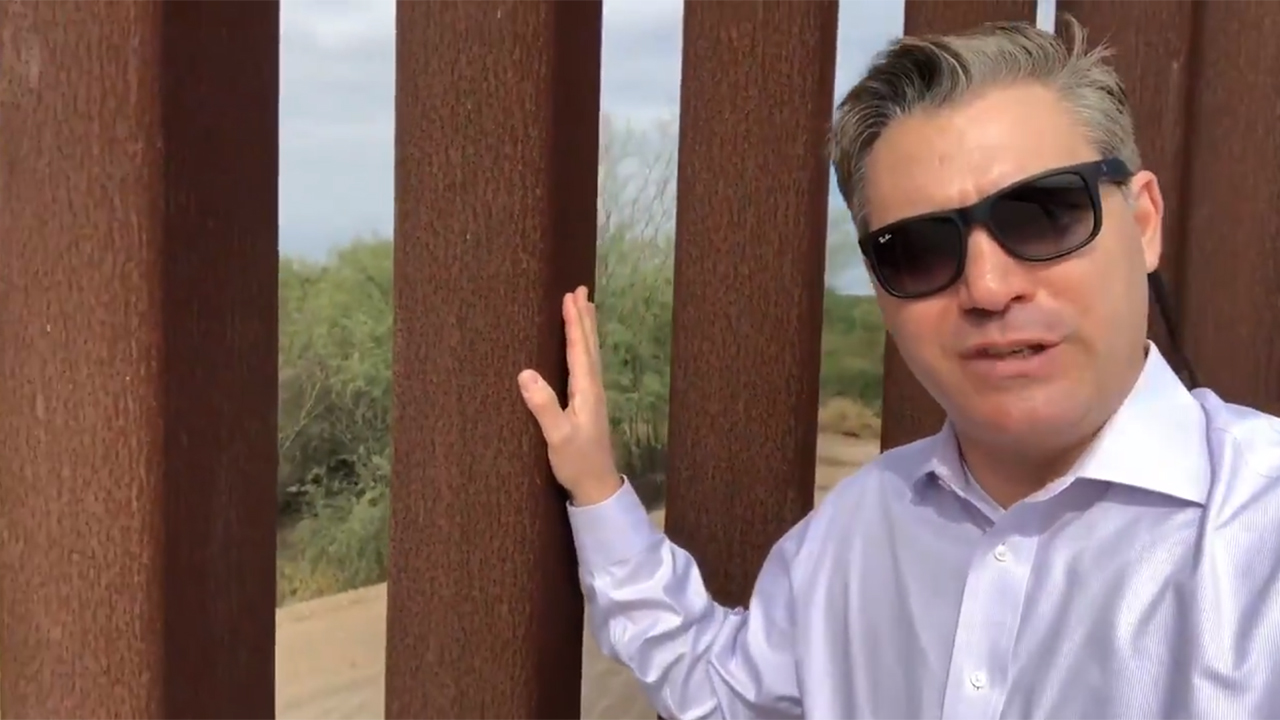CNN's Jim Acosta mocked for accidentally proving that border walls work