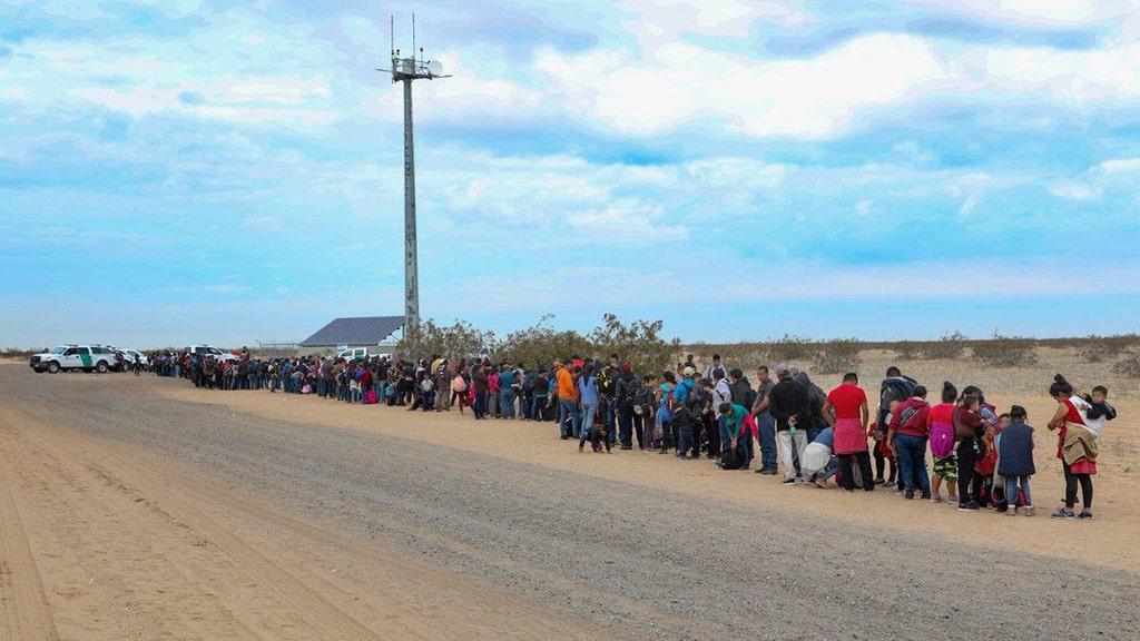 Hundreds of Central Americans arrested for tunneling under border barrier, Border Patrol says