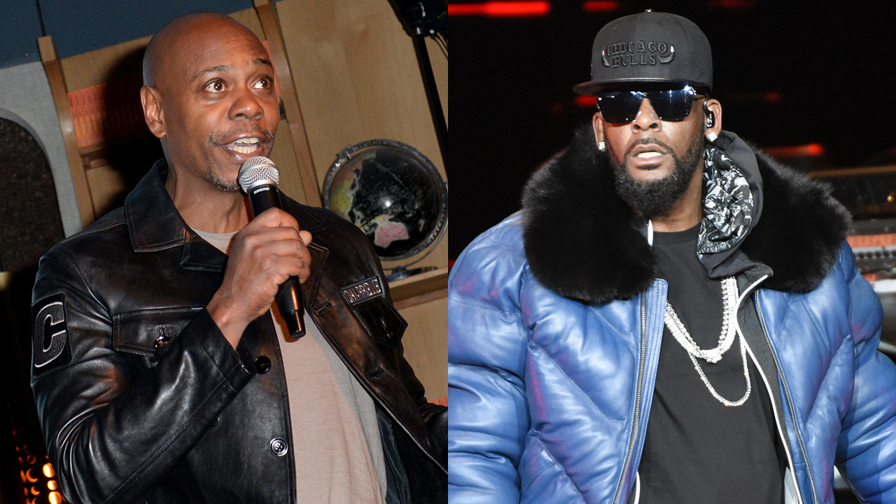 Dave Chappelle and R. Kelly allegedly almost fought over comedy skit that poked fun at the embattled singer