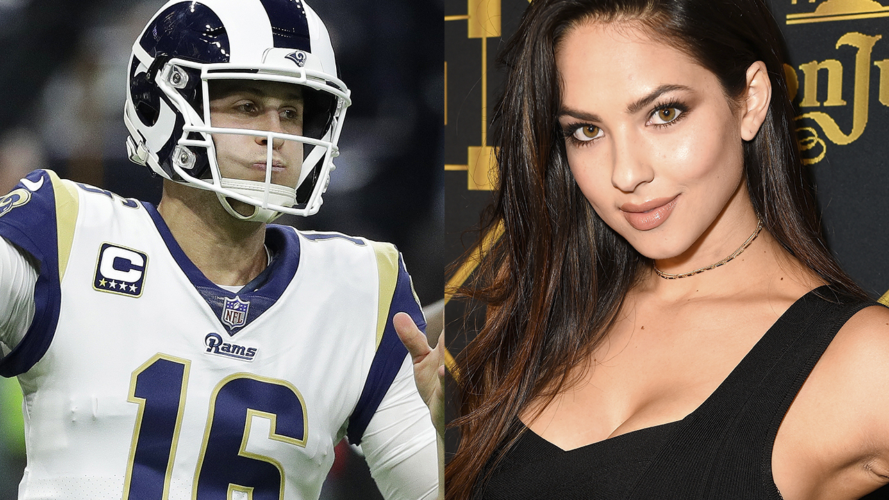 Is Jared Goff dating swimsuit model Christen Harper?