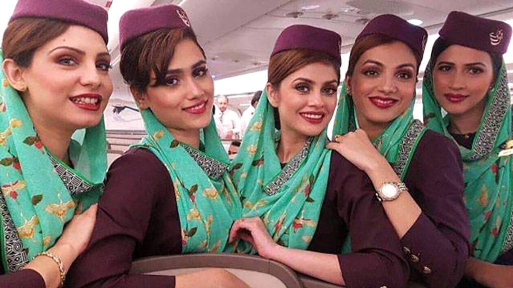 Pakistan International Airlines tells 'obese' cabin crew to lose weight or be grounded