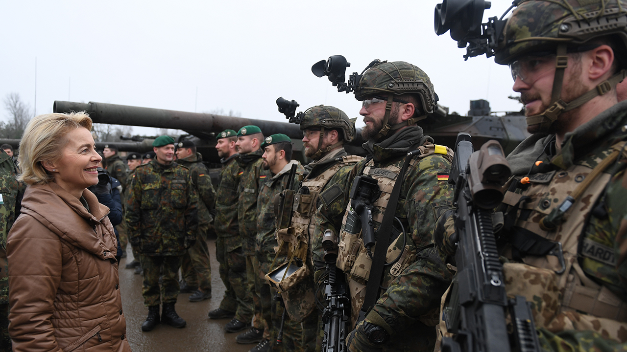 Germany admits EU is already building a 'united' army - thanks to France