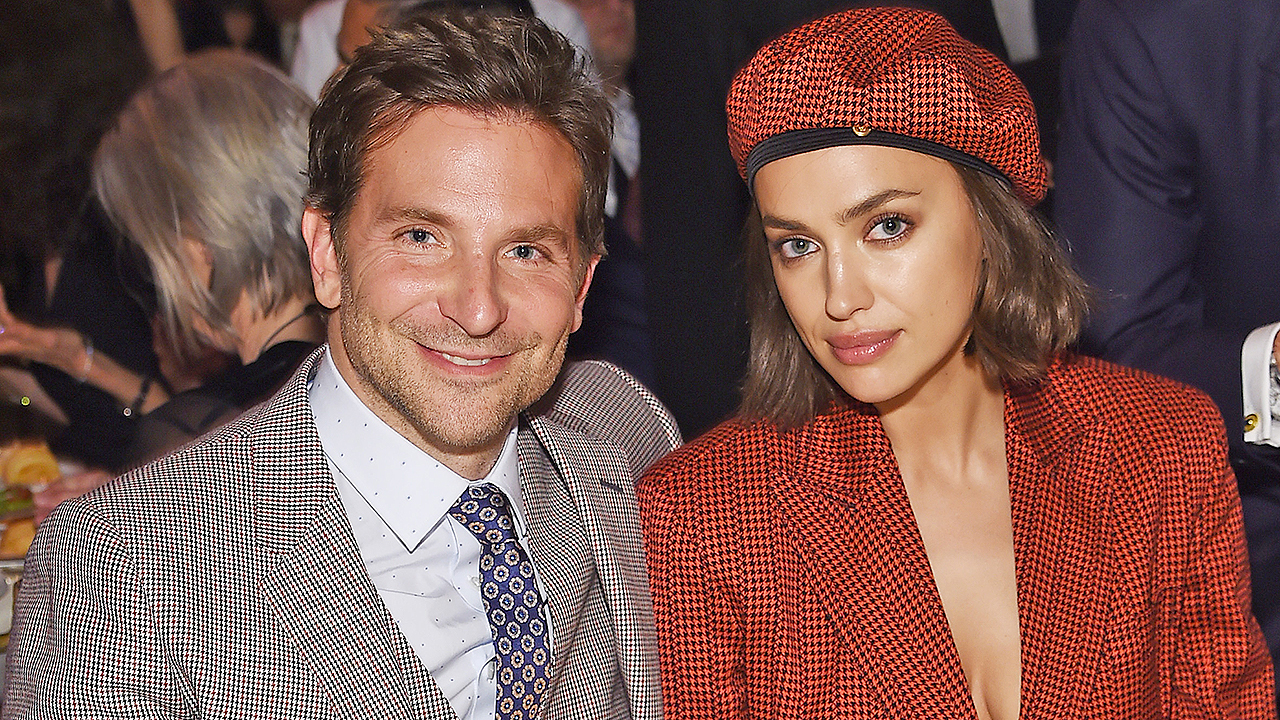 Bradley Cooper thanks Irina Shayk for 'putting up with' him at BAFTAs