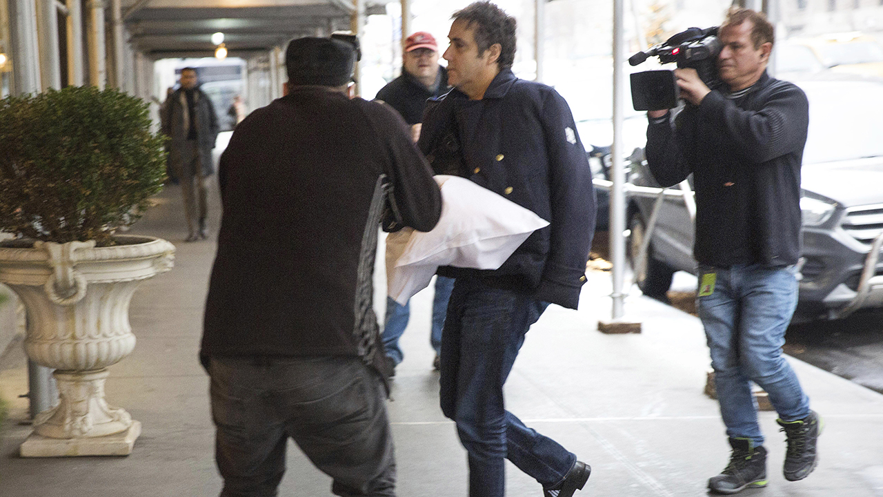 Cohen spotted with arm in sling, setting off speculation