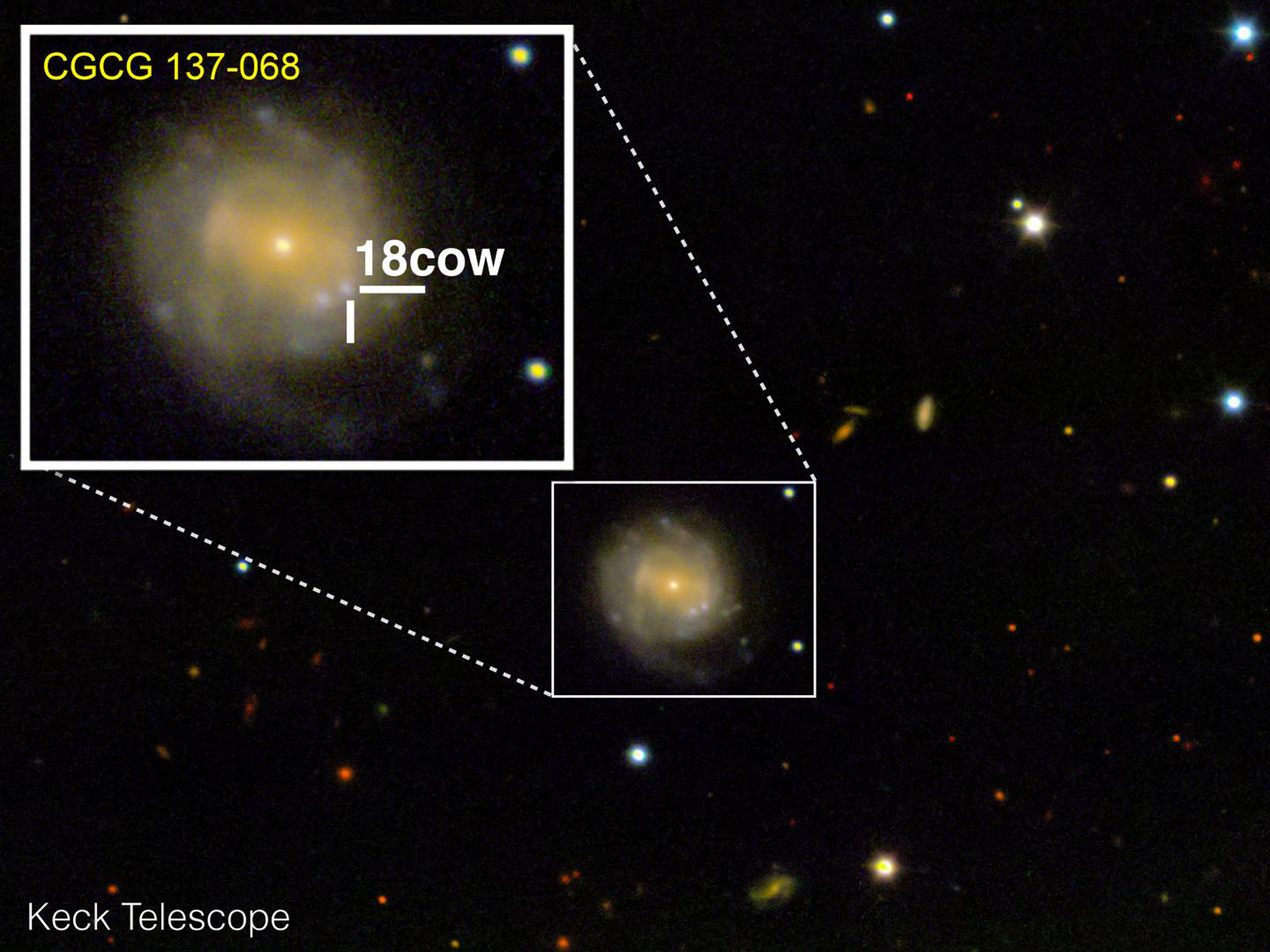 Exploding 'cow' seen in space might be first black hole birth ever seen