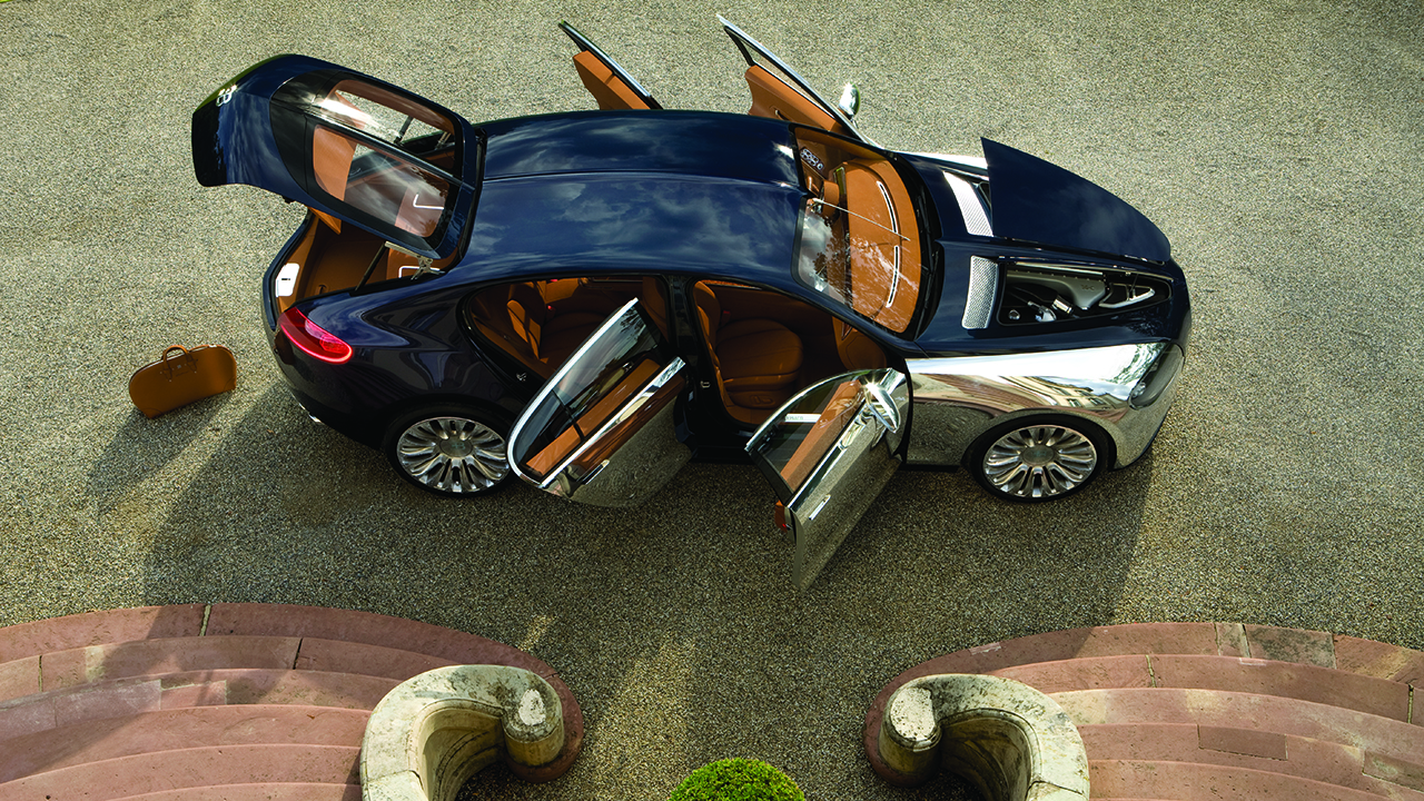 Sorry, you can't buy a Bugatti SUV