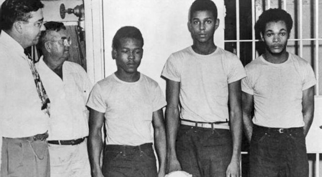 Florida posthumously pardons 4 black men accused of sensational 1949 rape