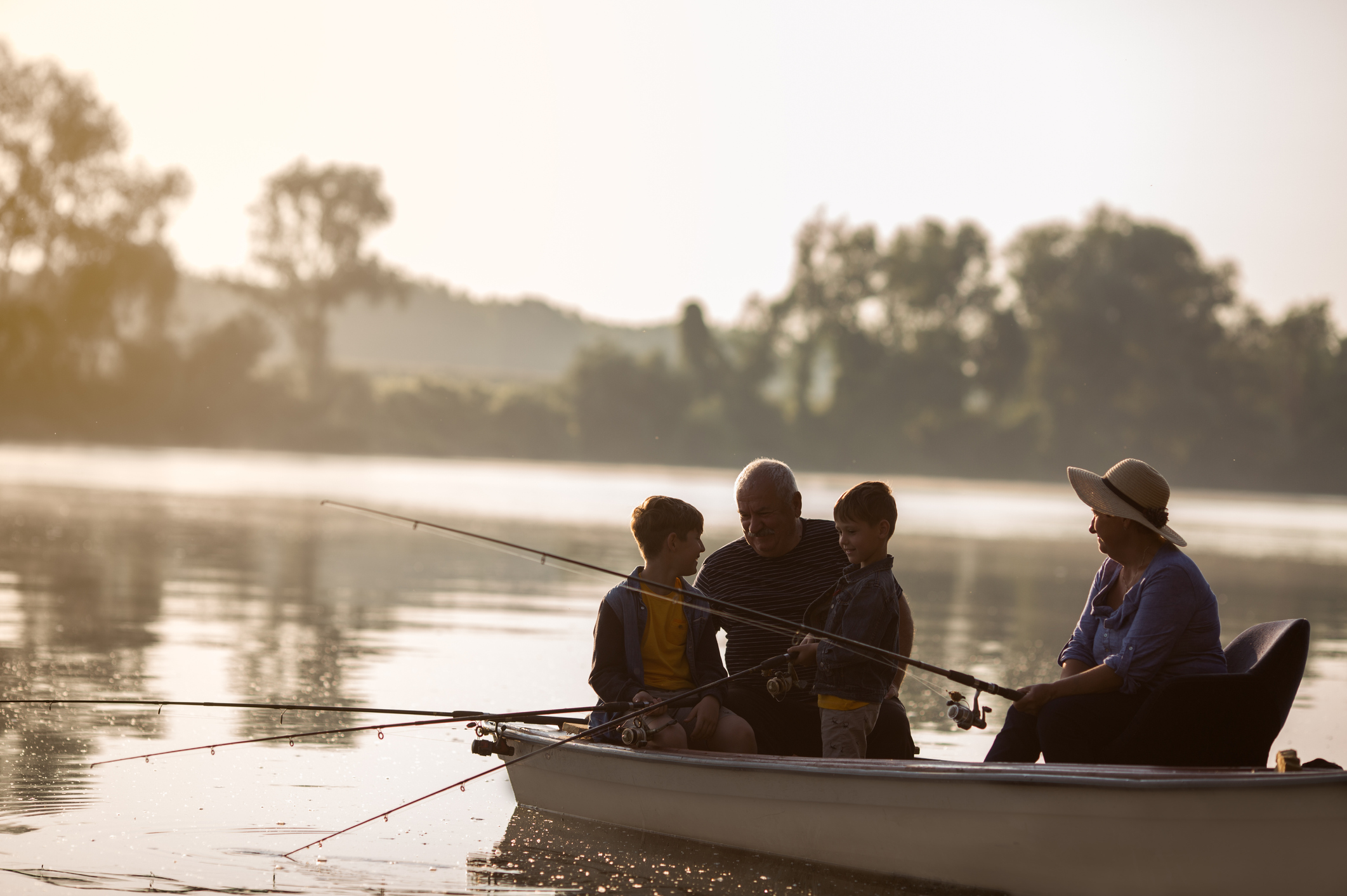 Fishing trips are great for your mental health, new study says