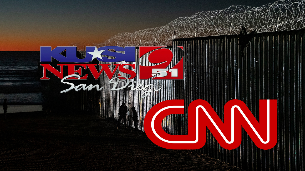 San Diego station claims CNN asked for local border wall perspective, but backed off when response favored Trump