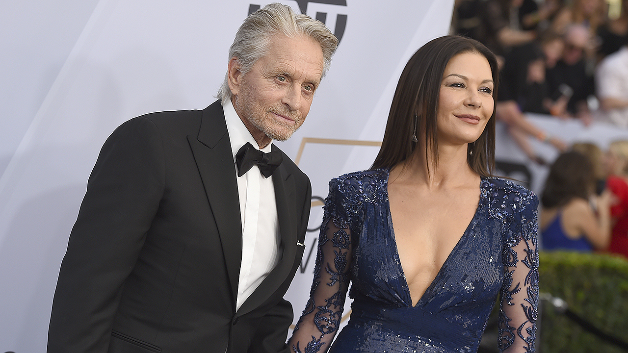 Michael Douglas dishes on his advice to daughter Carys as she starts dating: 'What do you mean you're frien...
