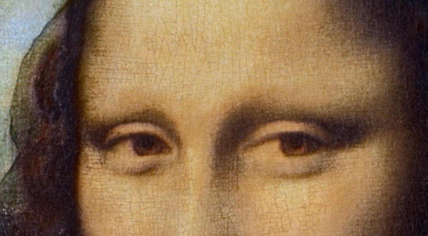 The magical gaze of 'Mona Lisa' is a myth