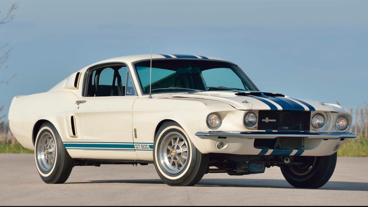 Unique 1967 Ford Mustang Shelby GT500 Super Snake sold at auction for record $2.2 million