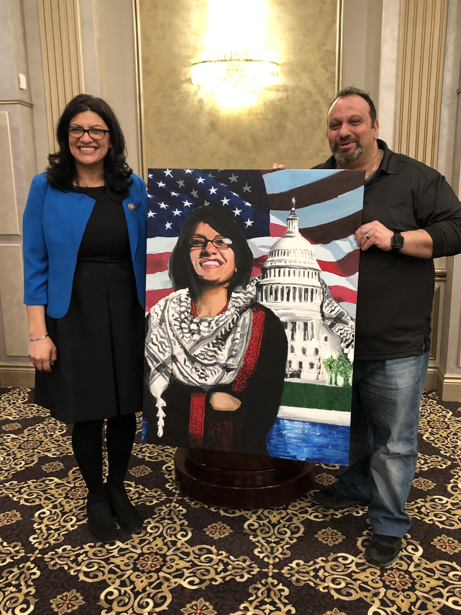 Jewish groups condemn Rashida Tlaib over ties to radical pro-Hezbollah, anti-Israel activist