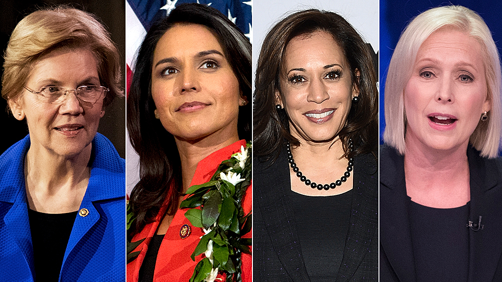 Westlake Legal Group women-prez-candidates-AP Some female Dem voters question whether woman should face Trump in 2020 Frank Miles fox-news/politics/elections/democrats fox-news/politics/2020-presidential-election fox-news/person/tulsi-gabbard fox-news/person/kirsten-gillibrand fox-news/person/kamala-harris fox-news/person/elizabeth-warren fox-news/person/amy-klobuchar fox news fnc/politics fnc article 04470f35-66f7-5fff-b13c-eaa21e41d688