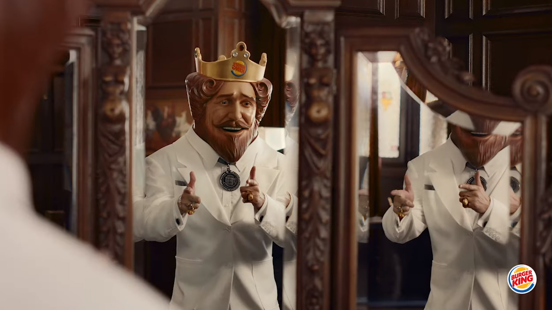 Burger King trolling KFC, Colonel Sanders in ad for flame-grilled chicken