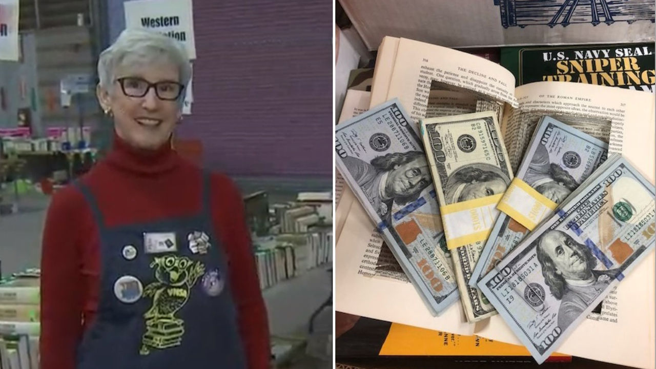 Arizona volunteer finds $4G in hollowed-out book, then tracks down owner, returns cash