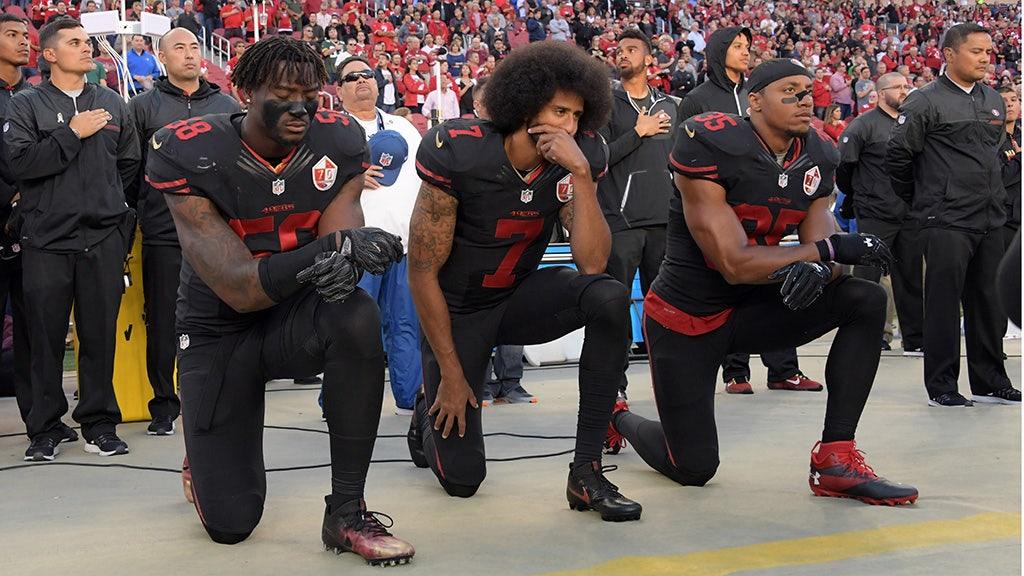 Colin Kaepernick shares video celebrating 3-year anniversary of kneeling during anthem