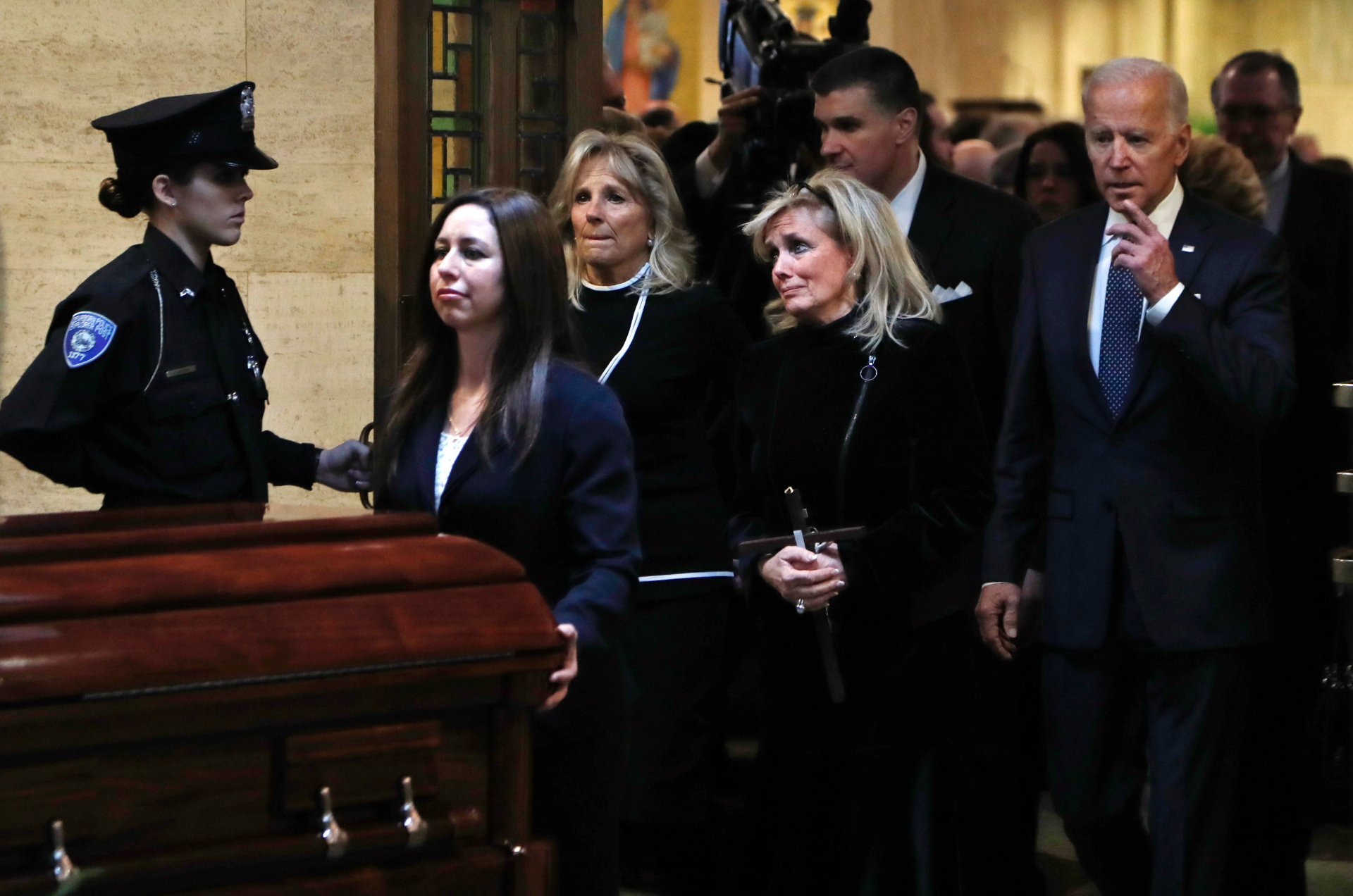 The Latest: Dingell's casket pauses at US Capitol building