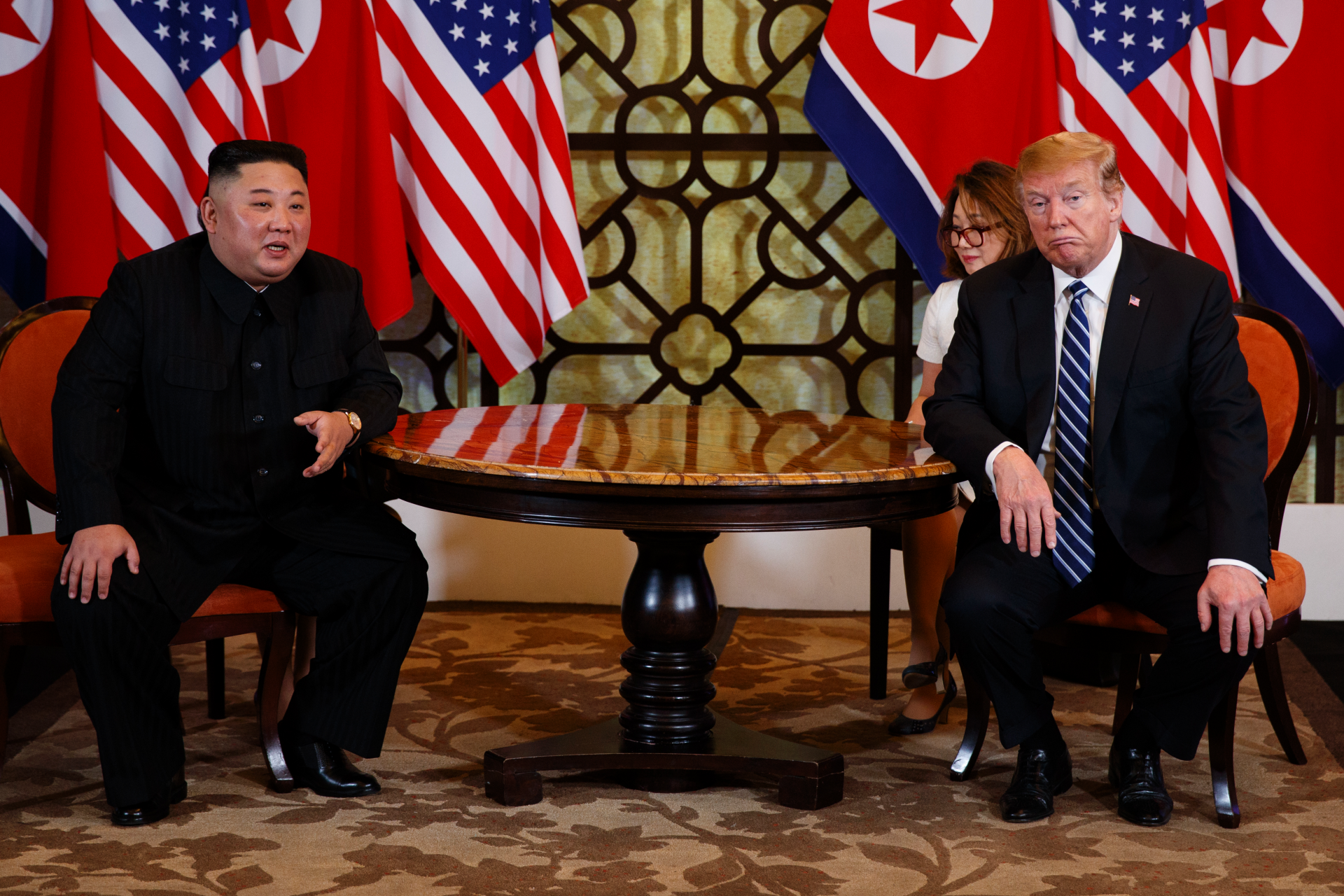Trump wasn't prepared to lift US sanctions on North Korea leading to summit's abrupt end: 'Sometimes you ha... thumbnail