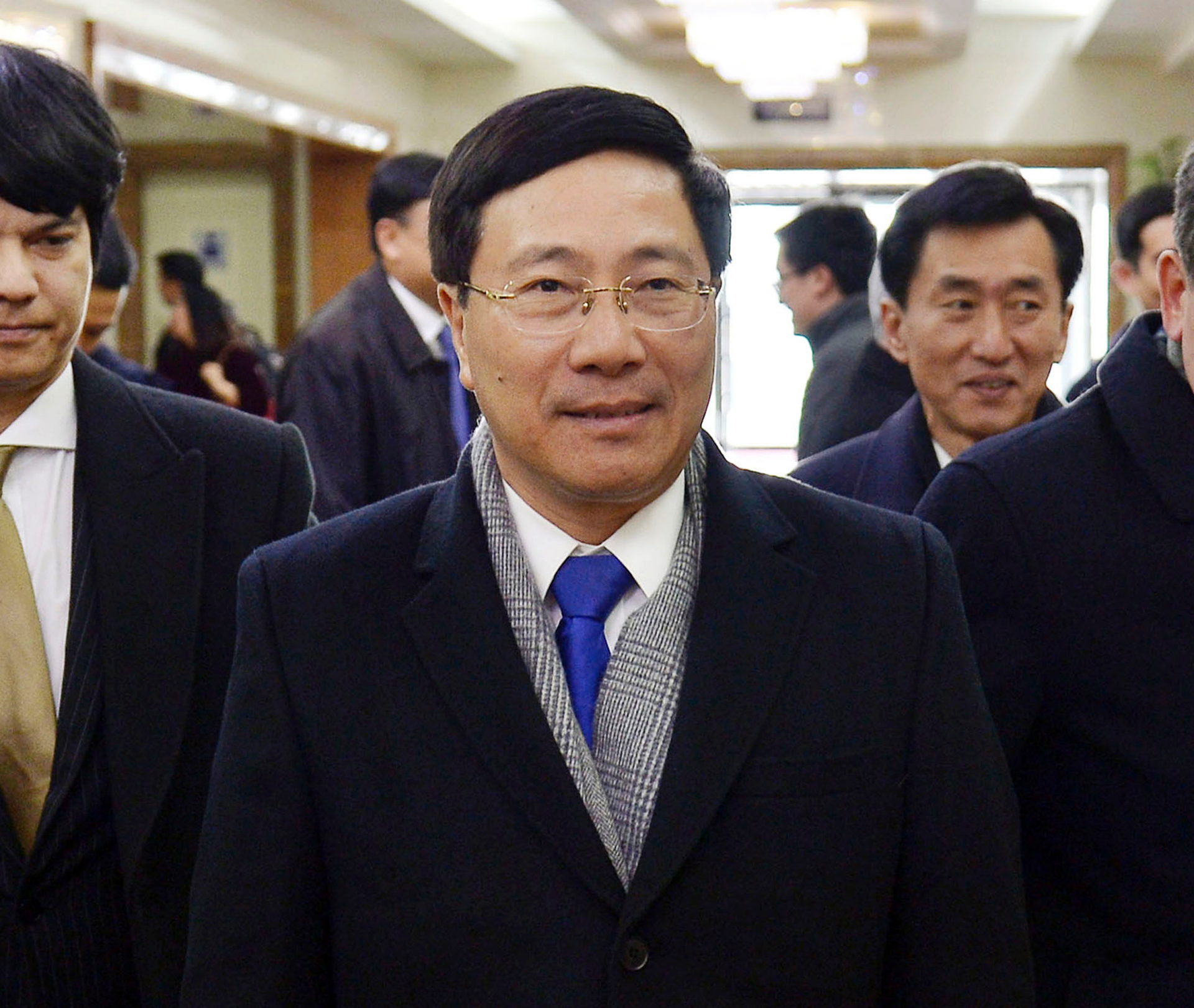 Vietnam foreign minister arrives in North Korea