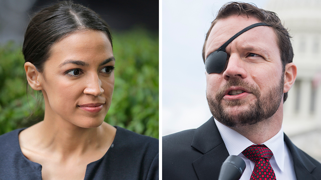 Reps. Ocasio-Cortez, Crenshaw clash on gun control: 'This is America outside NYC'