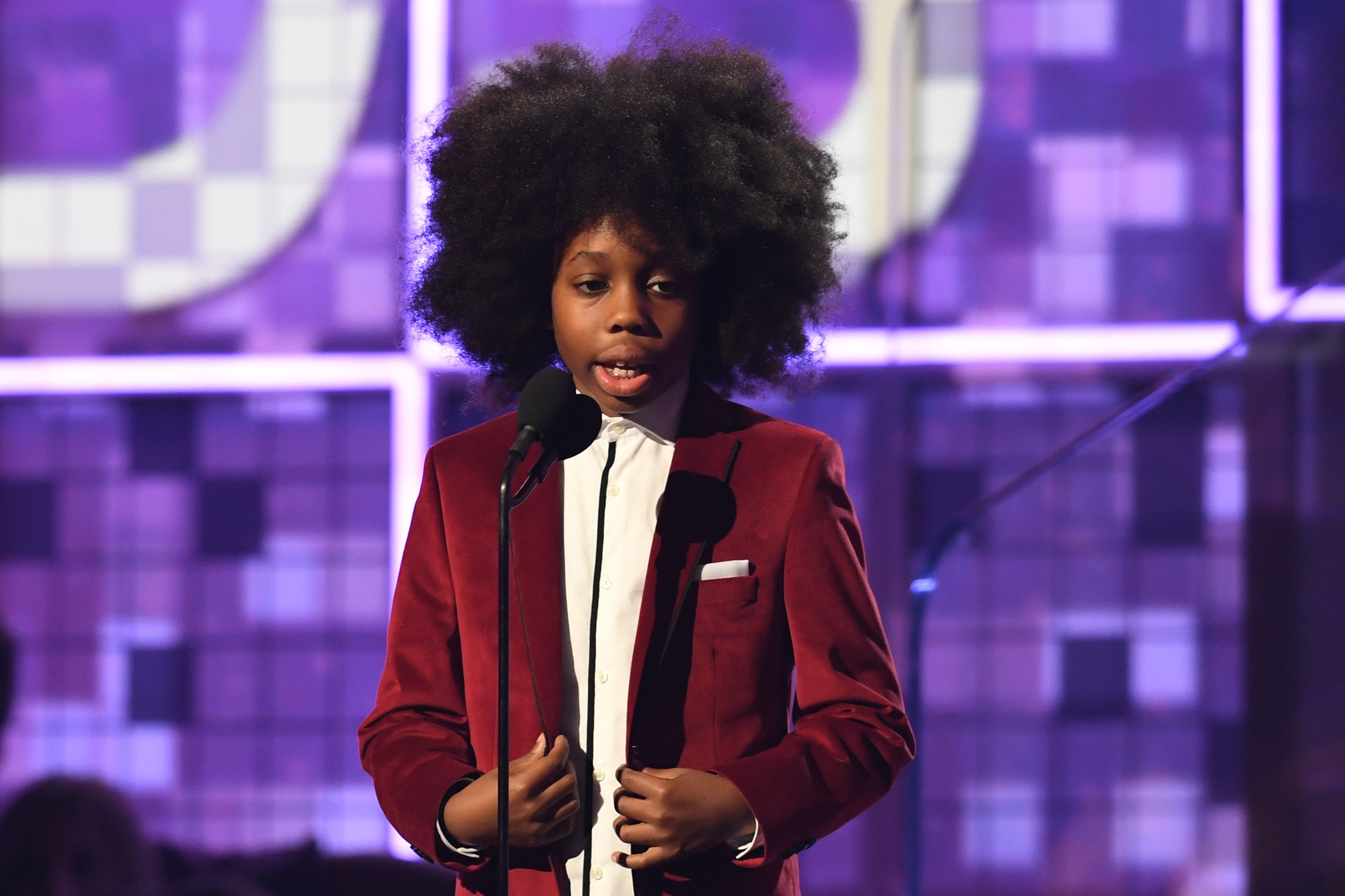Grammys 2019: Diana Ross' grandson has the Internet saying he 'stole the show'