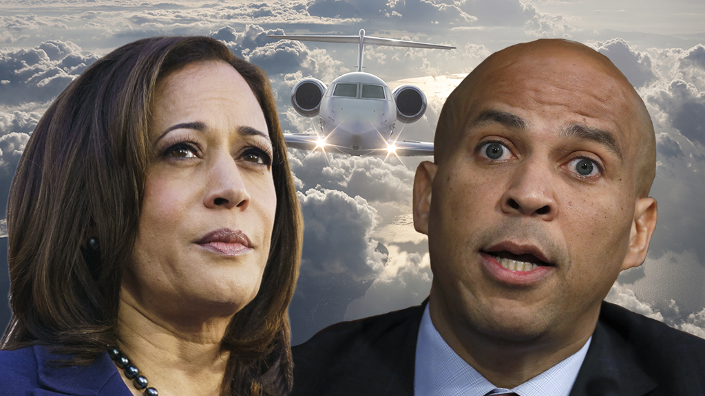 2020 Democrats jump to endorse Green New Deal despite spending hundreds of thousands on air travel - including private jets