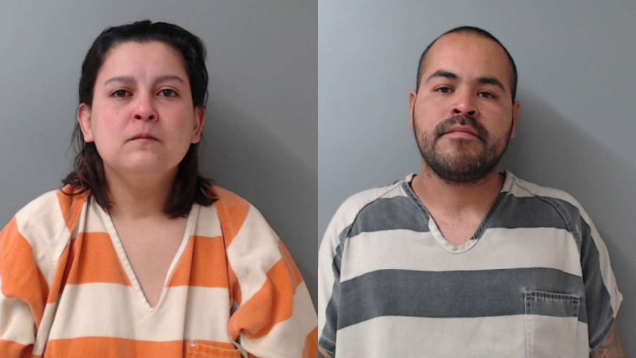 Texas couple arrested after body of daughter, 3, found in acid-filled container, police say