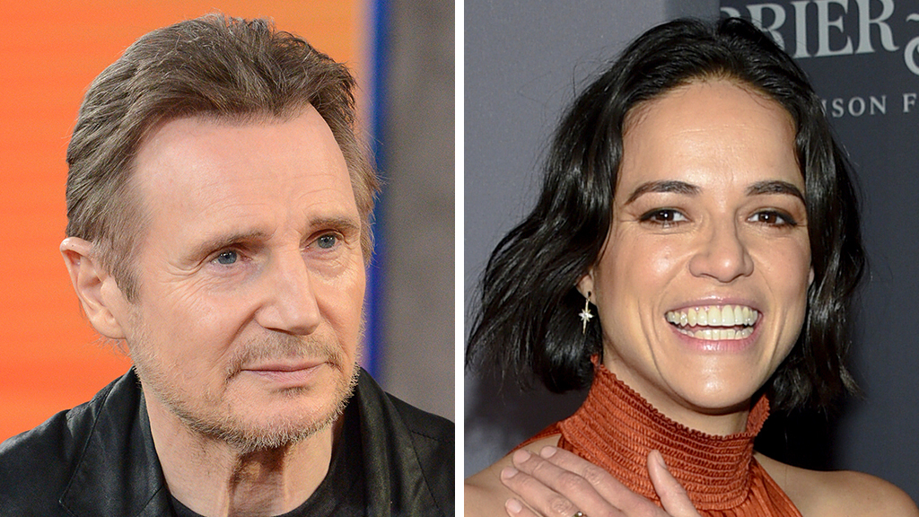Michelle Rodriguez apologizes for Liam Neeson defense, calls her words 'insensitive'