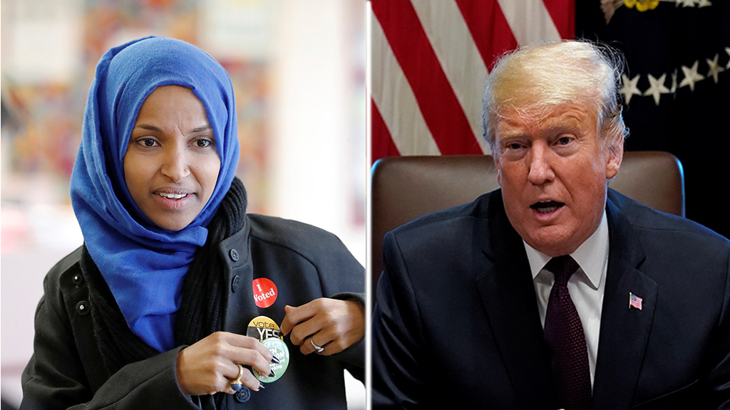 Ilhan Omar takes shot at Trump after president's criticism 1