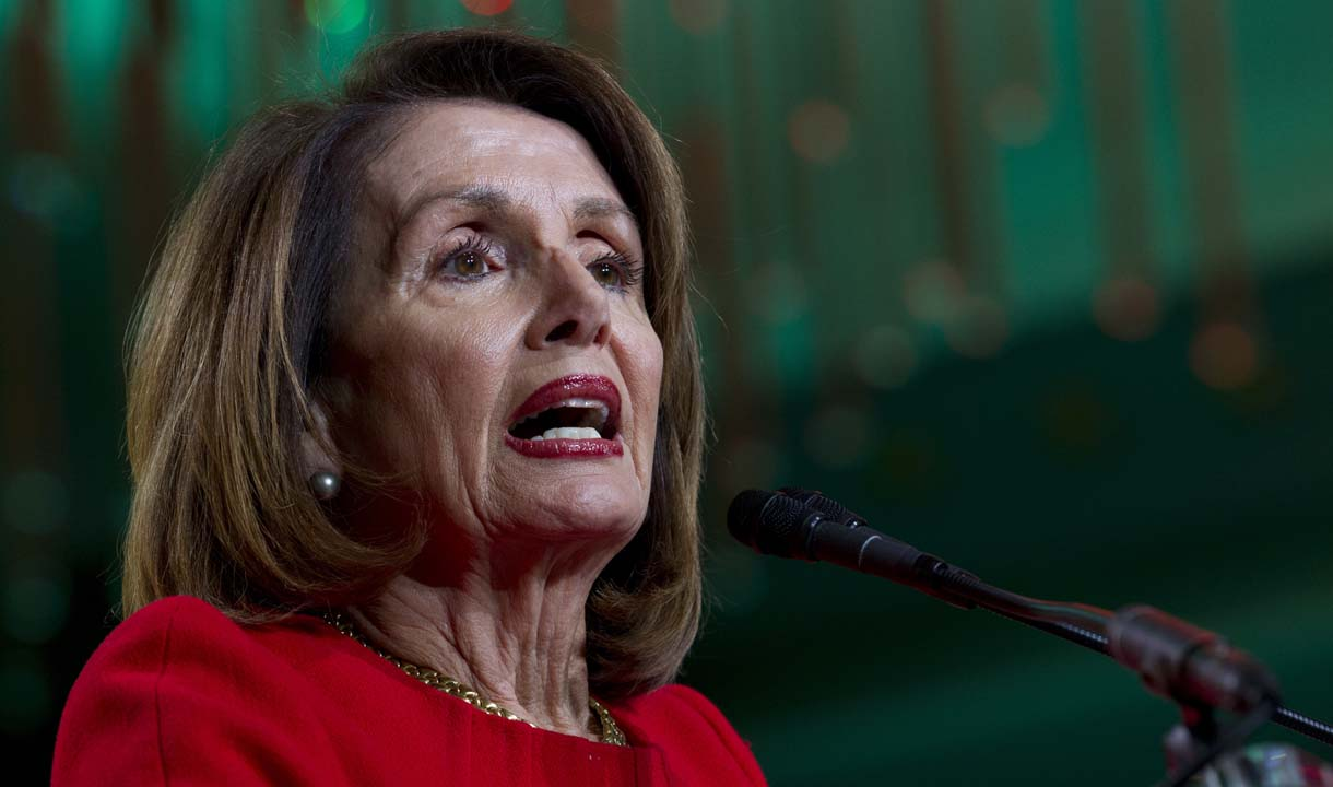 Speaker Pelosi called out for repeatedly using 'fake' Bible verse