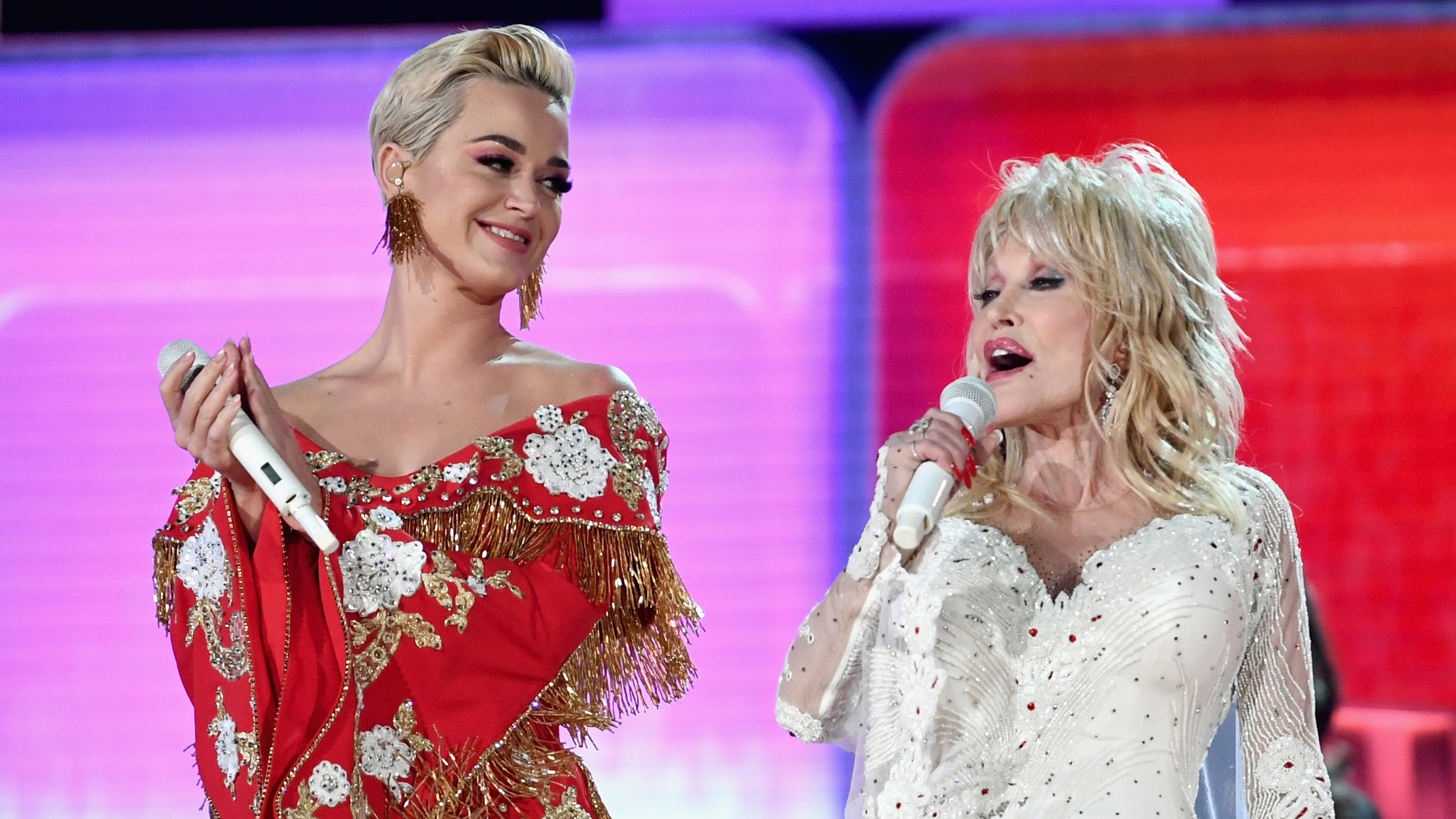 Grammys 2019: Dolly Parton respected in all star reverence featuring Miley Cyrus and Little Big Town