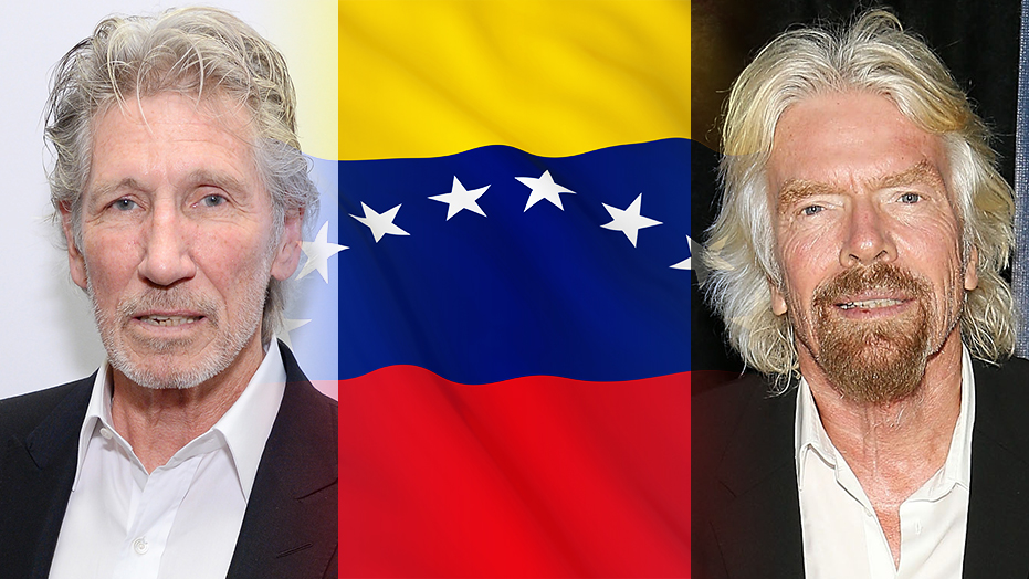 Roger Waters tells Richard Branson to 'back off' over Venezuela in bizarre dispute over benefit concert