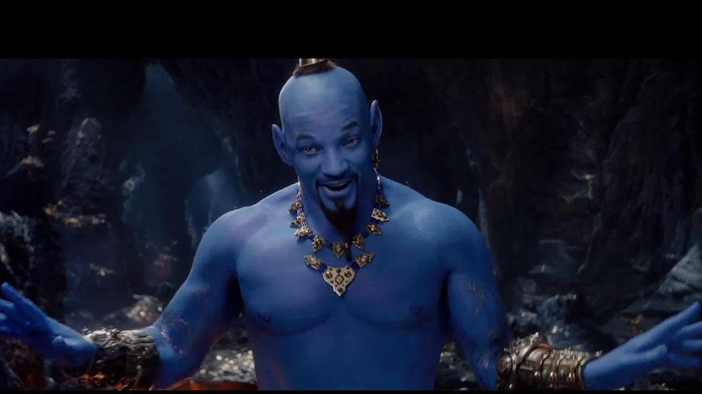 Will Smith revealed as blue Genie in 'Aladdin'