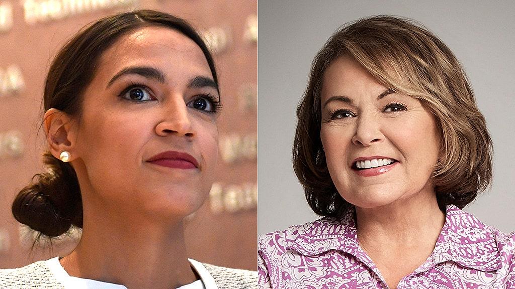 Roseanne Barr calls Alexandria Ocasio-Cortez a 'Farrakhan loving…bug-eyed b---h'