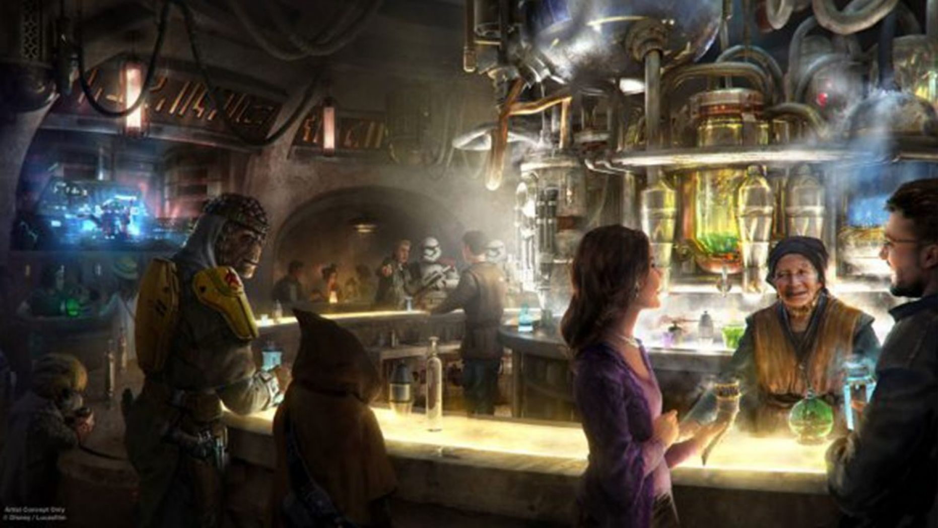 Disneyland's first-ever cantina will have one strict drinking rule