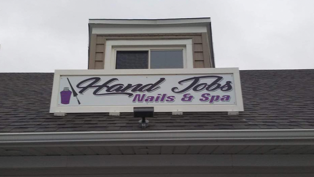 Nail salon defends risqué name, claims customers like it