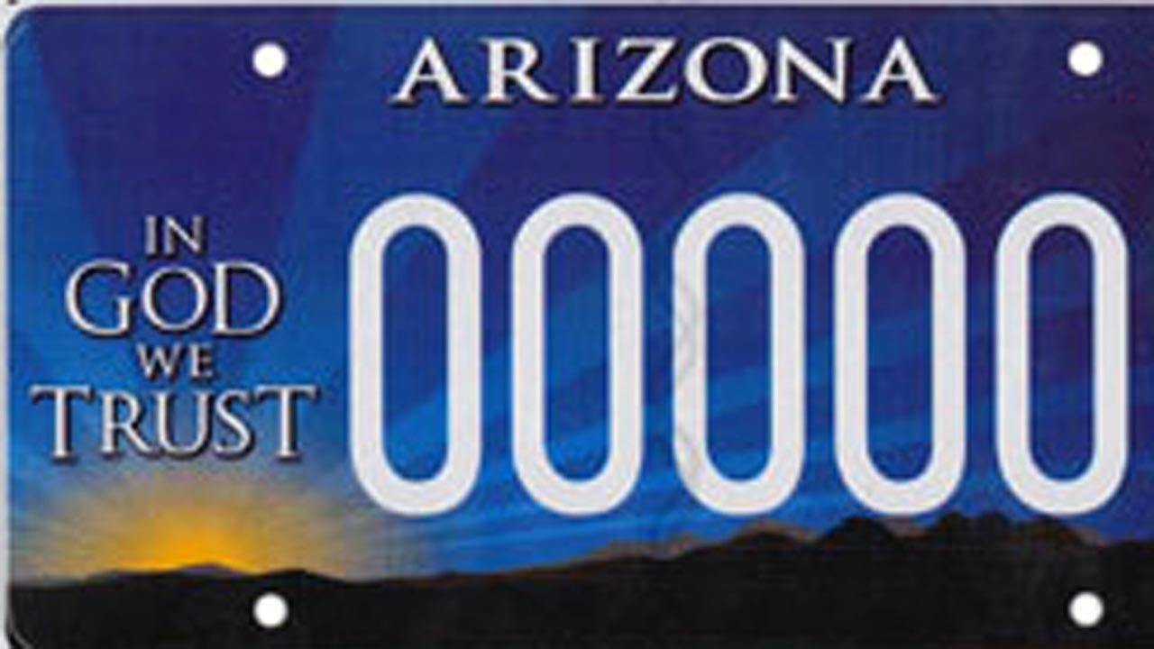 Arizona Democrat wants to ban 'In God We Trust' license plates because it funds religious liberty group