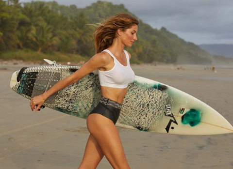 Gisele Bundchen flaunts bikini bod, love of nature, during vacation in Costa Rica