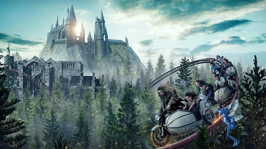 Universal Orlando announces new Harry Potter roller coaster