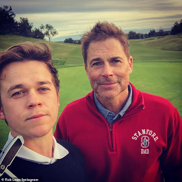 Rob Lowe tweet praises 'hardworking sons' amid college cheating scandal thumbnail