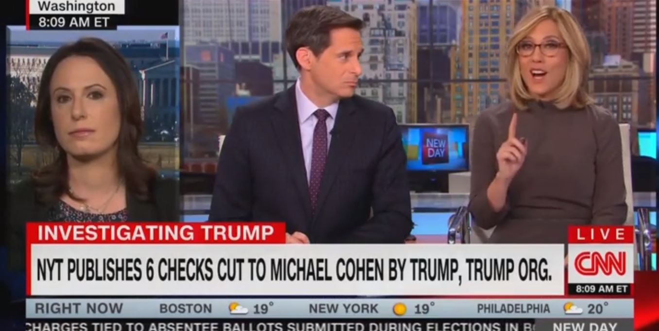 New York Times reporter clashes with CNN anchor over Trump check story thumbnail