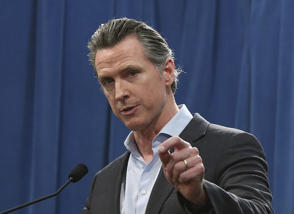 Westlake Legal Group AP19071830910732 Abortion seekers welcome in California, governor says, as pro-life measures gain elsewhere in US Lukas Mikelionis fox-news/us/us-regions/west/california fox-news/politics/state-and-local fox-news/politics/judiciary/abortion fox news fnc/politics fnc d0f57fbb-d9d0-52ae-8bee-fcb7591c0fb3 article