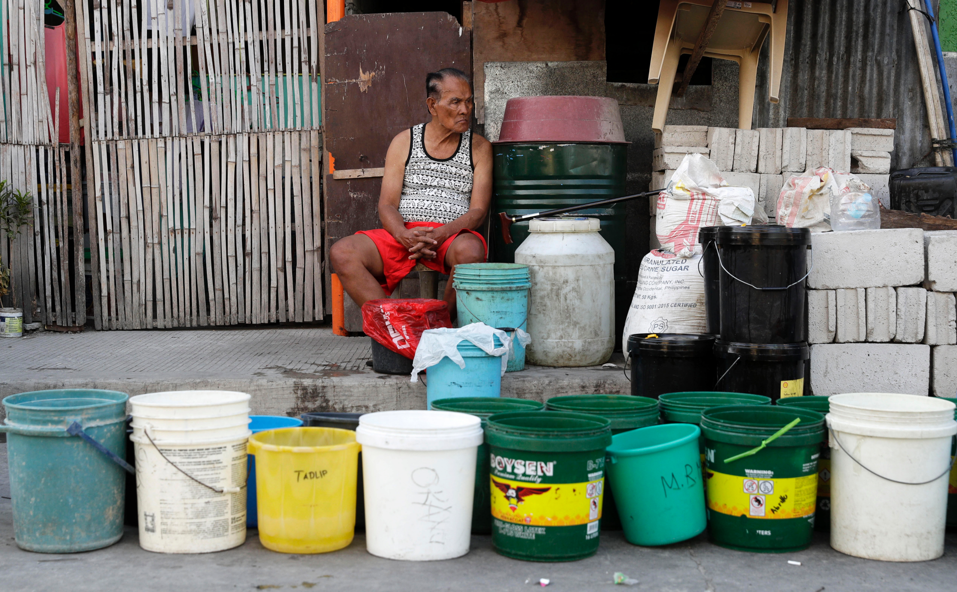 Philippine water shortage affects more than 6 million people