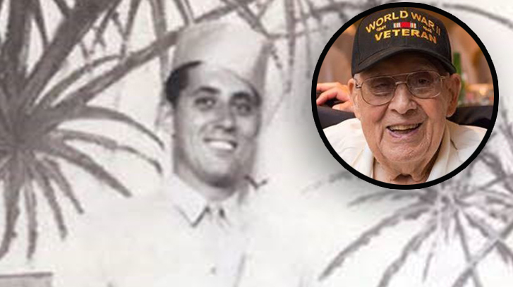 WWII vet turning 100 wants birthday cards from 'around the world'