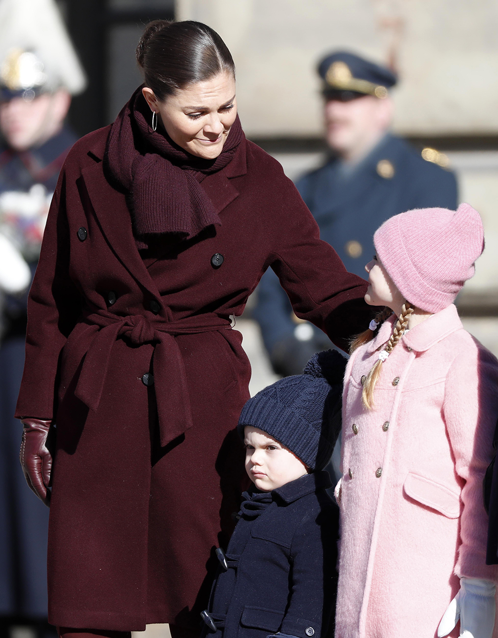Sweden's Prince Oscar gets grumpy on mom Princess Victoria's name day, steals the show