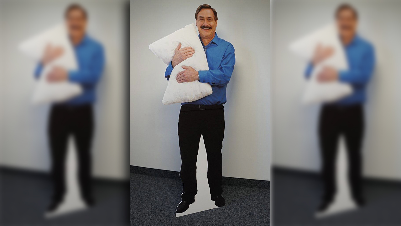 Minnesota police called for welfare check on man that turns out to be cutout of MyPillow CEO thumbnail